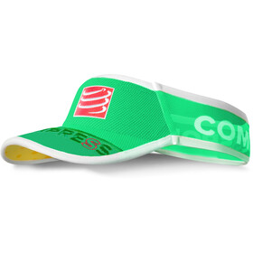 Compressport UltraLight copricapo, fluo green